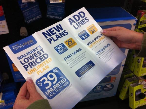 Walmart's Family Mobile Plan 3 #shop