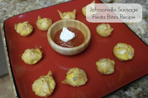 Johnsonville Sausage Fiesta Bites Recipe