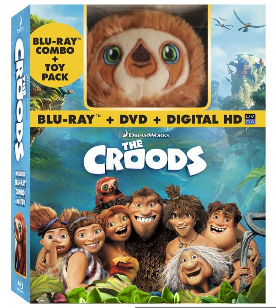 Croods Blu-ray DVD Plush