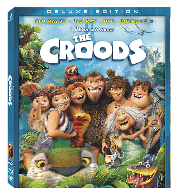 Croods Blu-ray DVD