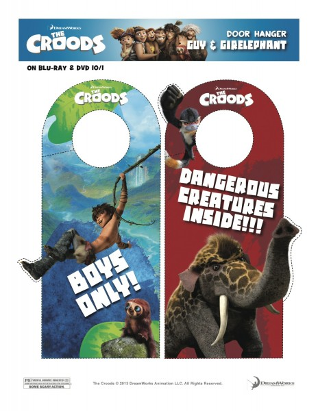 Croods Door Hangers 2