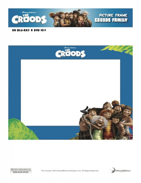 Croods picture frames