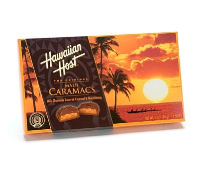Hawaiian Host Maui Caramacs