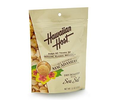 Hawaiian Host Sea Salt Macadamia Nuts
