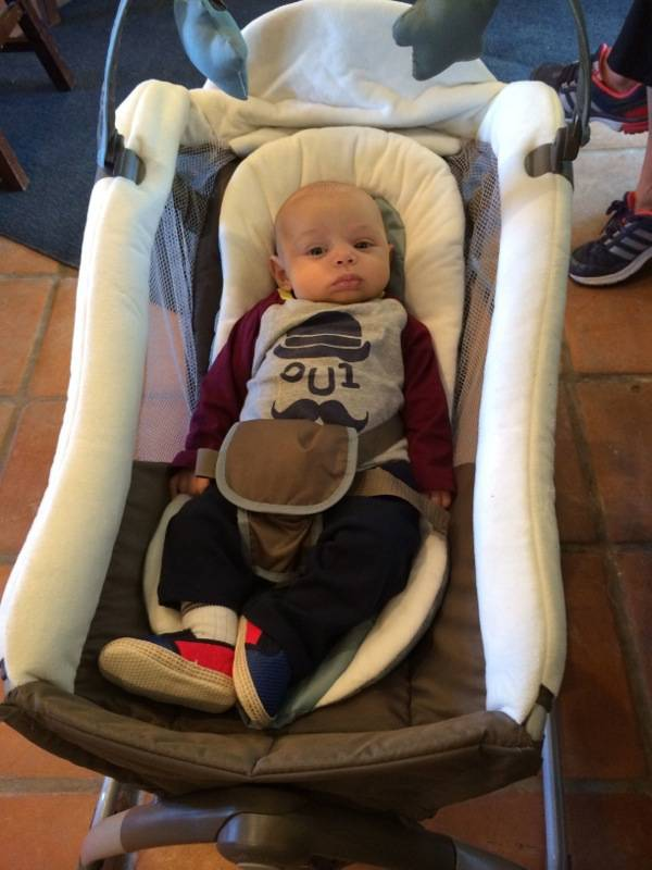 #Graco15ForMe Graco Little Lounger 1