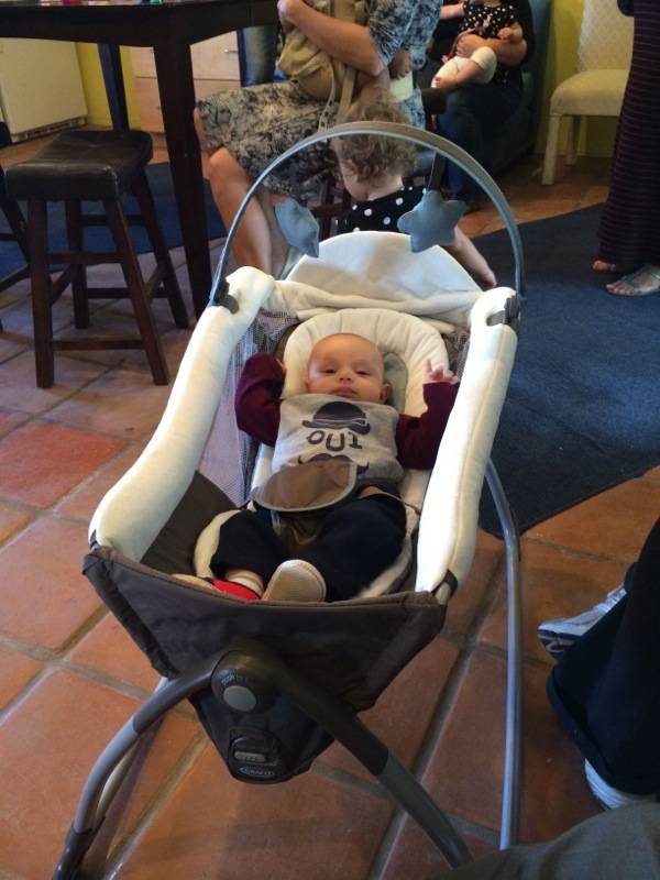 #Graco15ForMe Graco Little Lounger 5