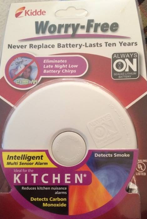Kidde Worry-Free Smoke and CO Alarm