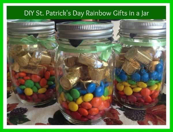 #StPatricksDay #GiftsInAJar #DIY