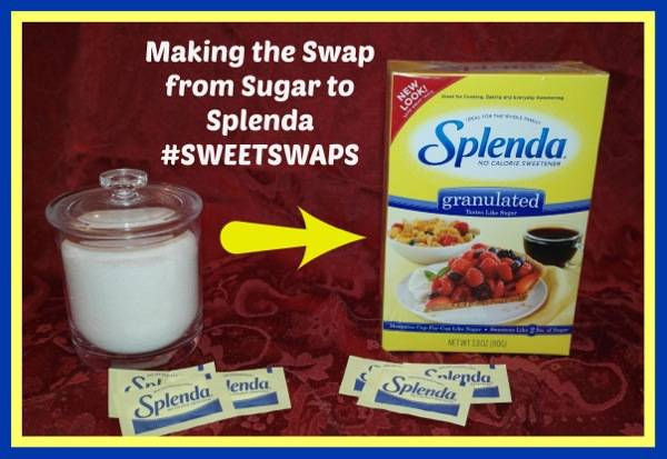 #spon #SWEETSWAPS #Splenda #Sugar