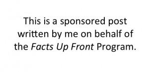 #FactsUpFront #spon
