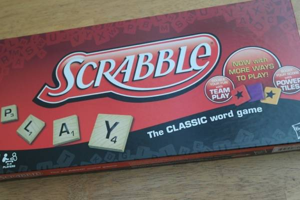 #Hasbro #FamilyGameNight #Scrabble #spon