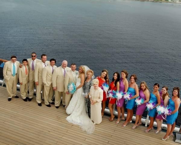 #FrankAndShannon #CarnivalWedding #CruiseWedding #Wedding