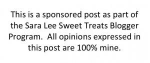 #SLSweetTreats #TeamSaraLee #sponsored