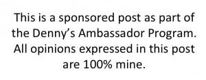 #DennysDiners #foodie #ambassador #spon