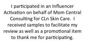 #CLnSkinCare #MC #sponsored