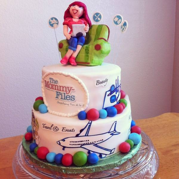 The Mommy-Files Cake