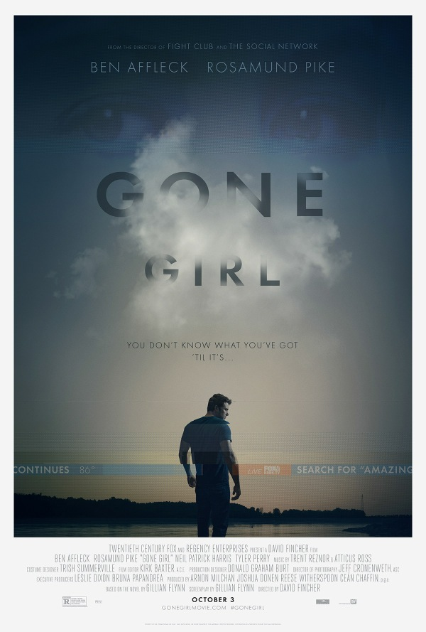 #GoneGirl #movie #giveaway #ad