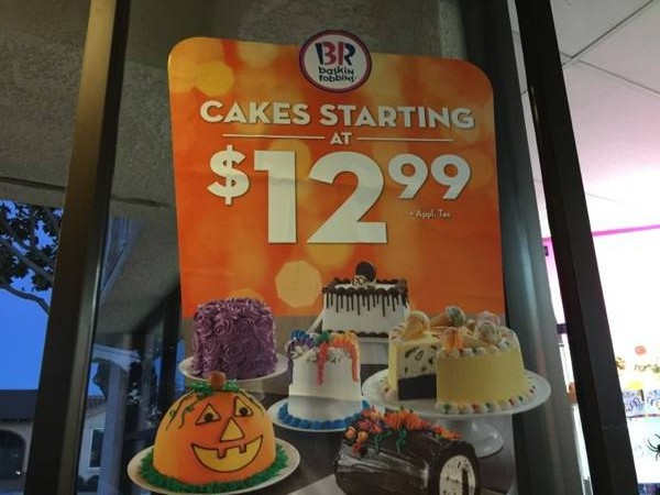 #TrickBRTreat #BRCakeSweeps #Halloween #Giveaway #ad