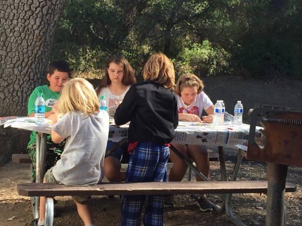 #Camping #OurBigFamily #FamilyFun #Crafts