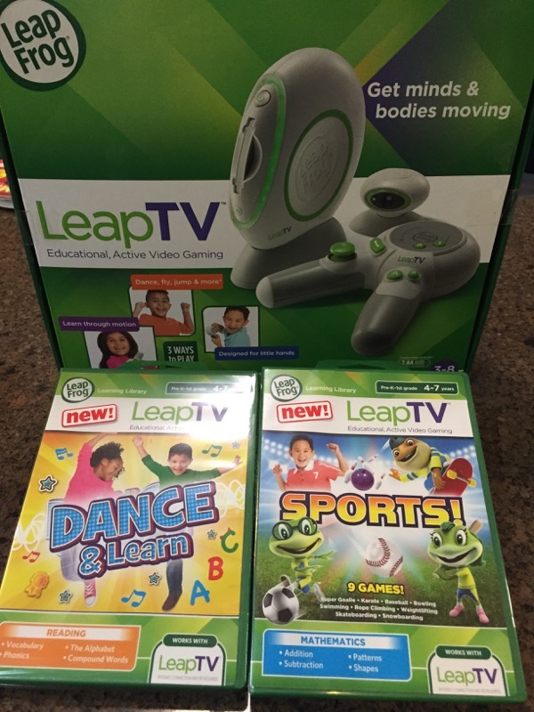 "LeapTV ""Leap Into Gaming"" MommyParty"