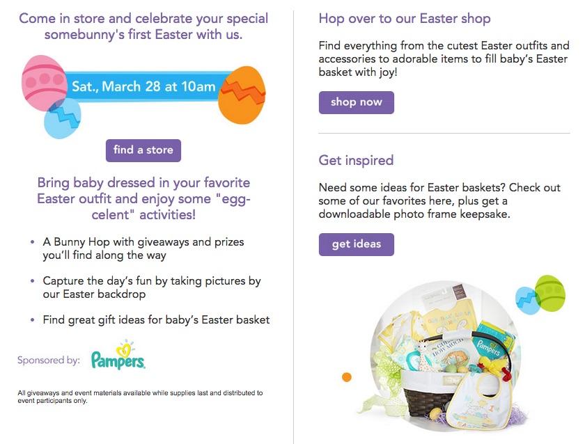 #BRUEaster #Easter #BabiesRUs #spon
