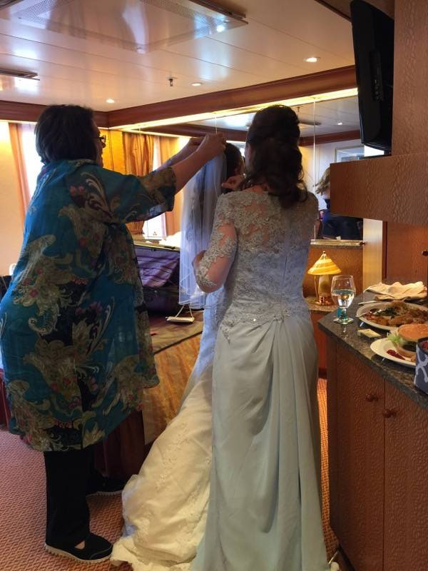 #FrankAndShannon #Wedding #bridal #makeup #WeddingCruise