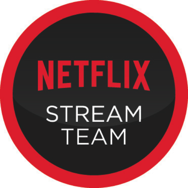 #Netflix #StreamTeam #ad