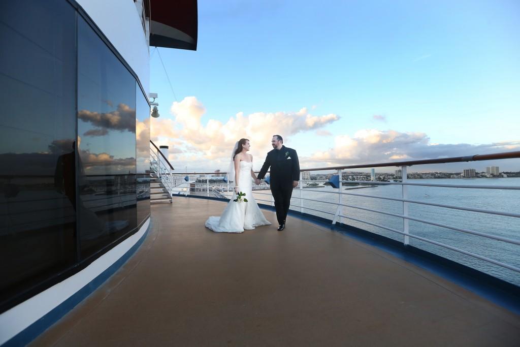 cruise wedding #FrankAndShannon #Wedding #bridal #makeup #WeddingCruise #CruisingCarnival