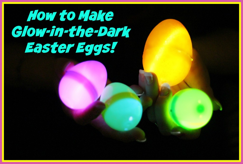 Glow-in-the-Dark Easter Eggs