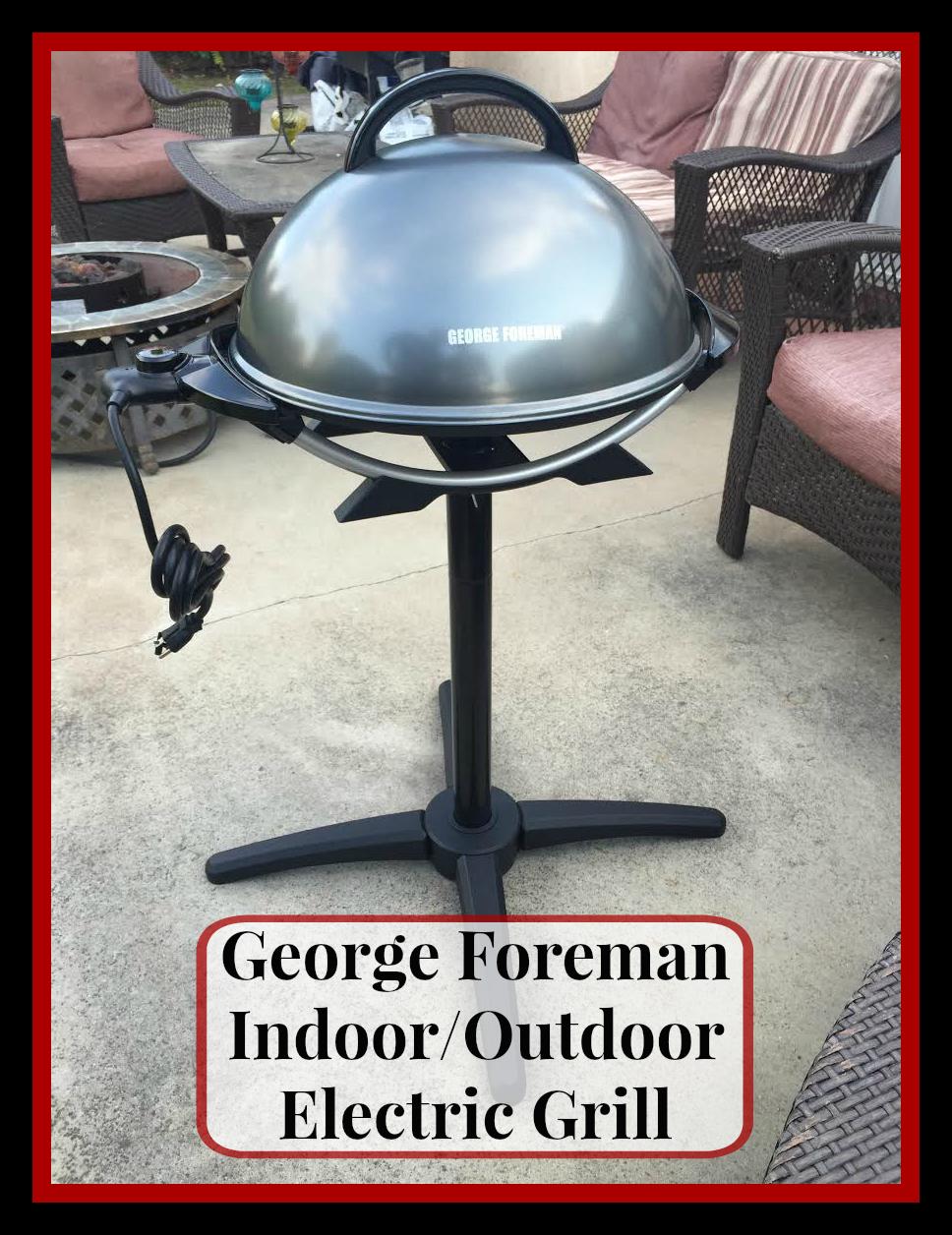 #GeorgeForeman #Grilling #SummerFun #ad