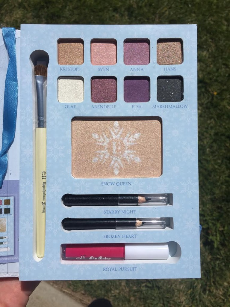 #elf #makeup #frozen #beauty #BBloggers #ad