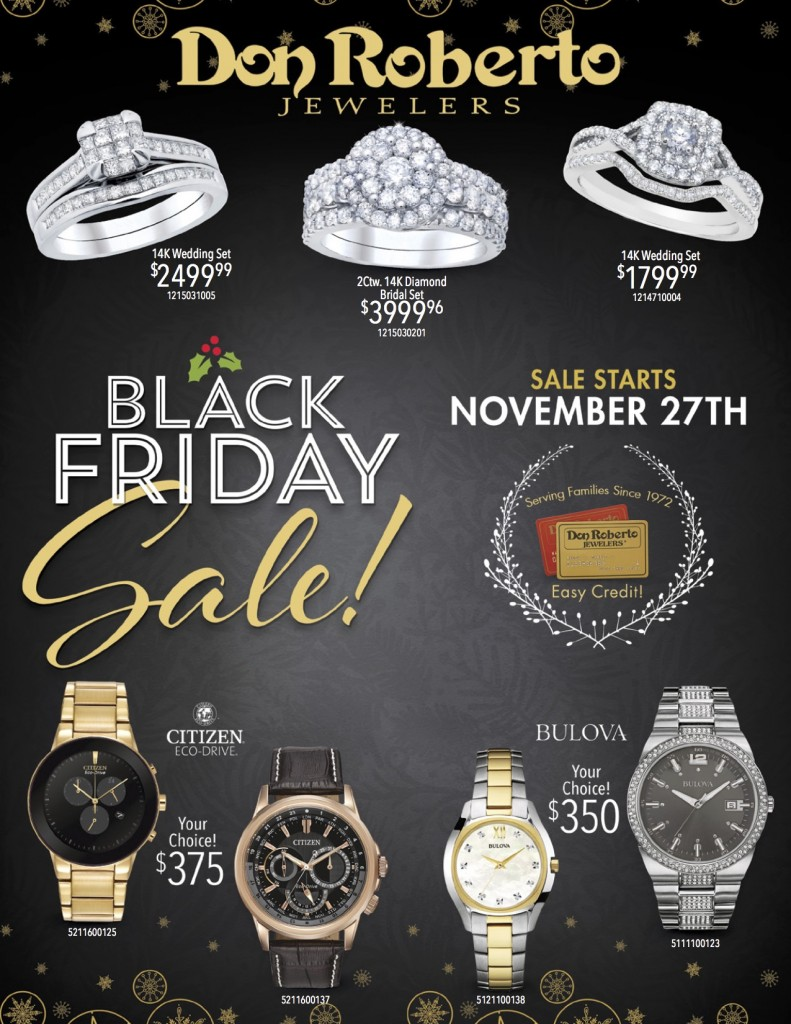 #DonRobertoCo #Jewelry #Fashion #BlackFriday #Holidays #ad