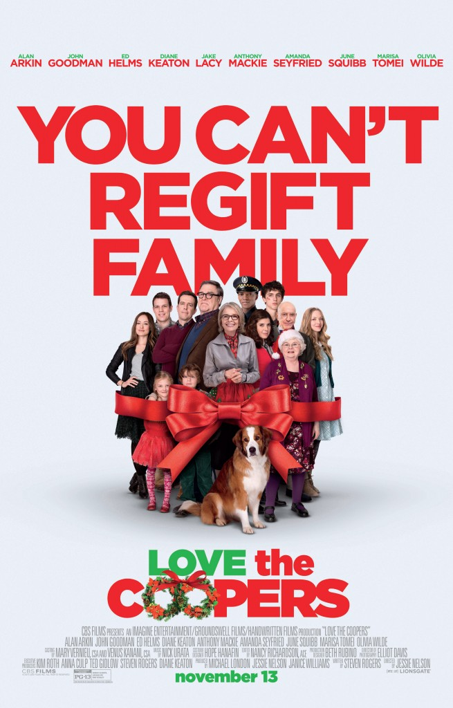#LoveTheCoopers #Movie #Holiday #Giveaway #ad