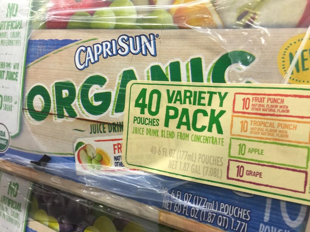 CAPRI SUN Organic Juice Drink 4