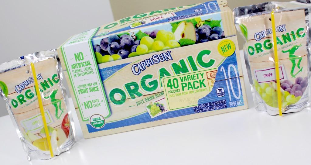 CAPRI SUN Organic Juice Drink 2