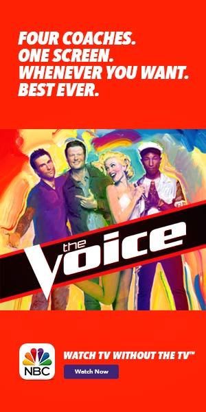 #TheVoice #BestEver #TV #TVEverywhere #NBC #ad