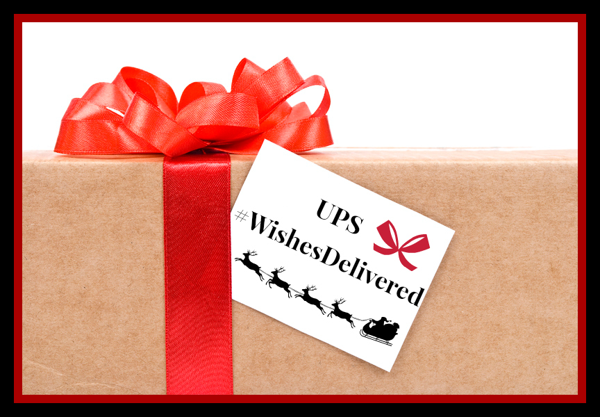 #WishesDelivered #UPSHolidays #ad