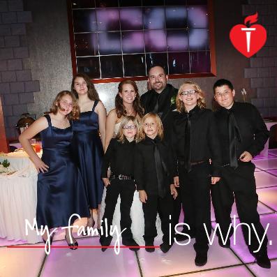#LifeIsWhy #FamilyIsWhy #AHA #Health #ad