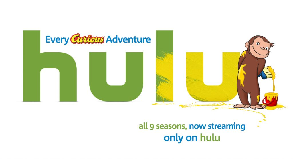 #CuriousGeorgeonHulu #HULU #Giveaway #ad