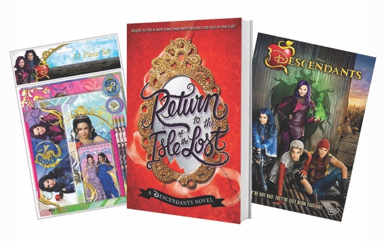 #DisneyDescendants #Disney #Books #Giveaway #ad