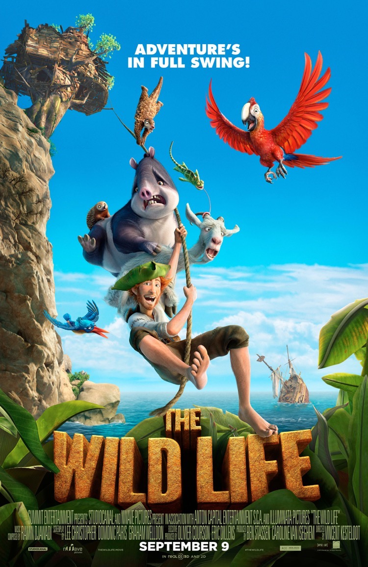 #TheWildLife #Movie #giveaway #ad