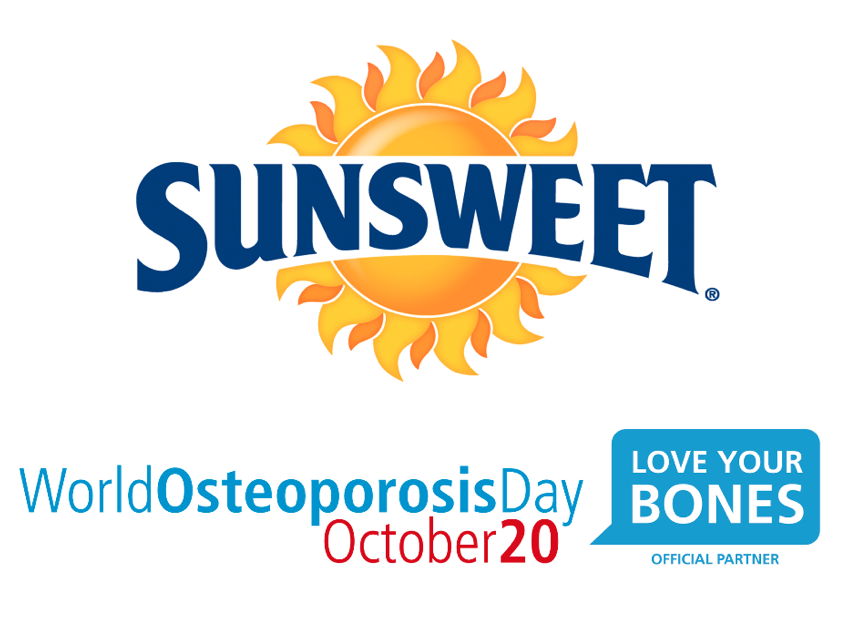 #WorldOsteoporosisDay #Sunsweet #ad