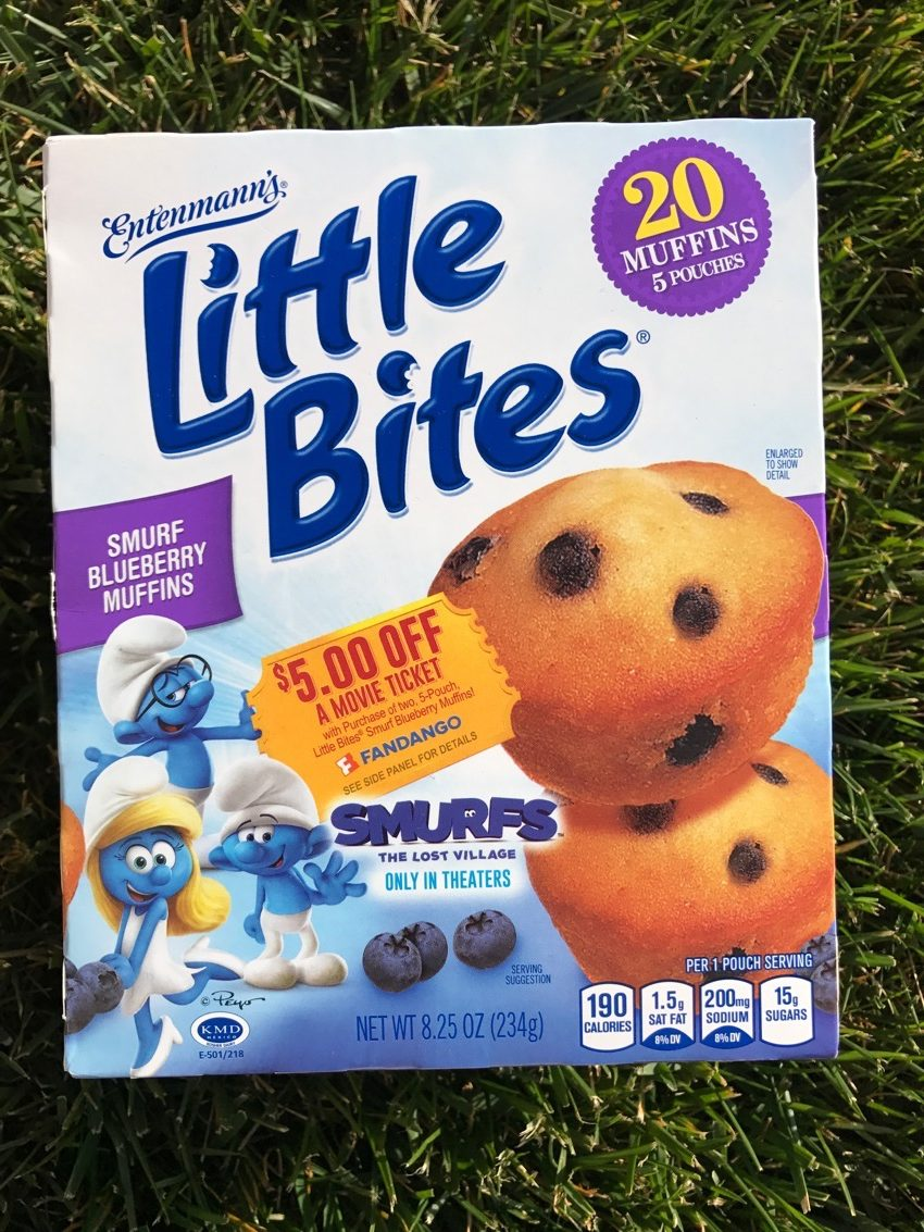 #Smurfs #Entenmanns #familyfood #foodie #food #giveaway #LoveLittleBites #ad
