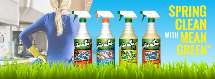 #MeanGreen #spingcleaning #cleaning #house #ad