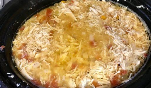Chicken Fajita Soup Recipe + Giveaway