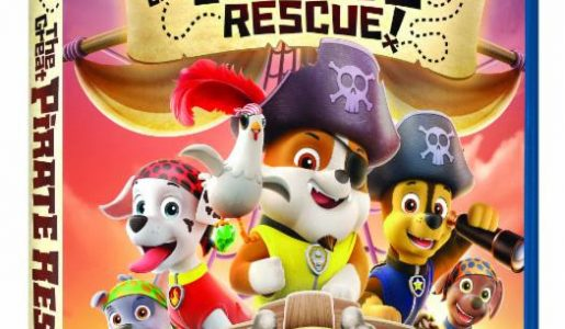 PAW Patrol: The Great Pirate Rescue on DVD + Giveaway