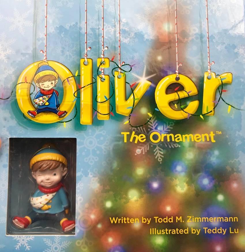 #OliverTheOrnament #Christmas #bullying #ad