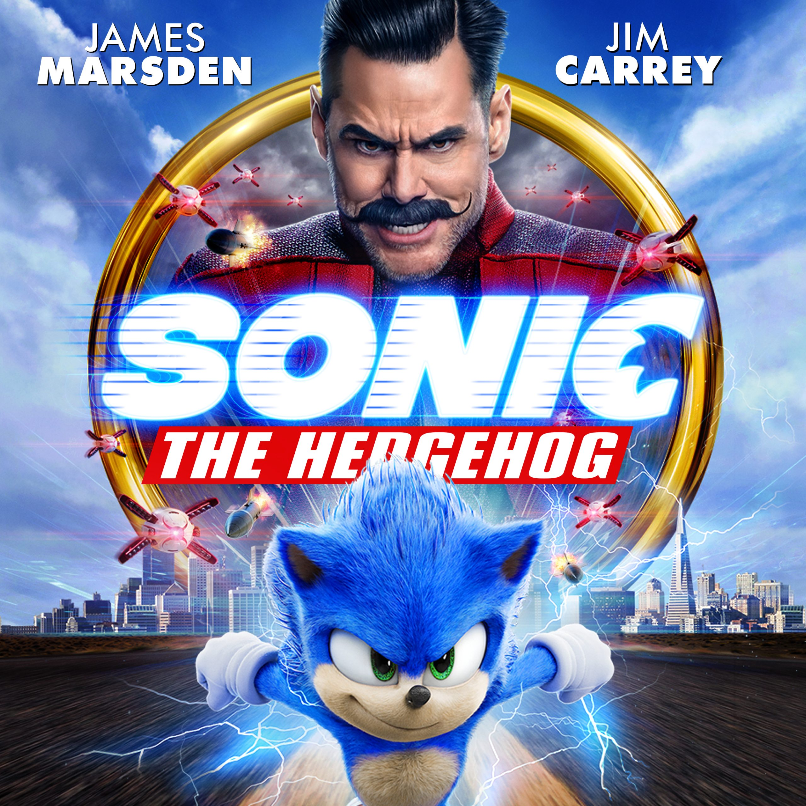 sonic the hedgehog movie 2020 dvd